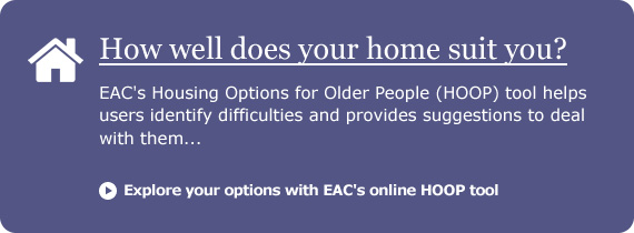 EACs Housing Options for Older People Tool (HOOP)