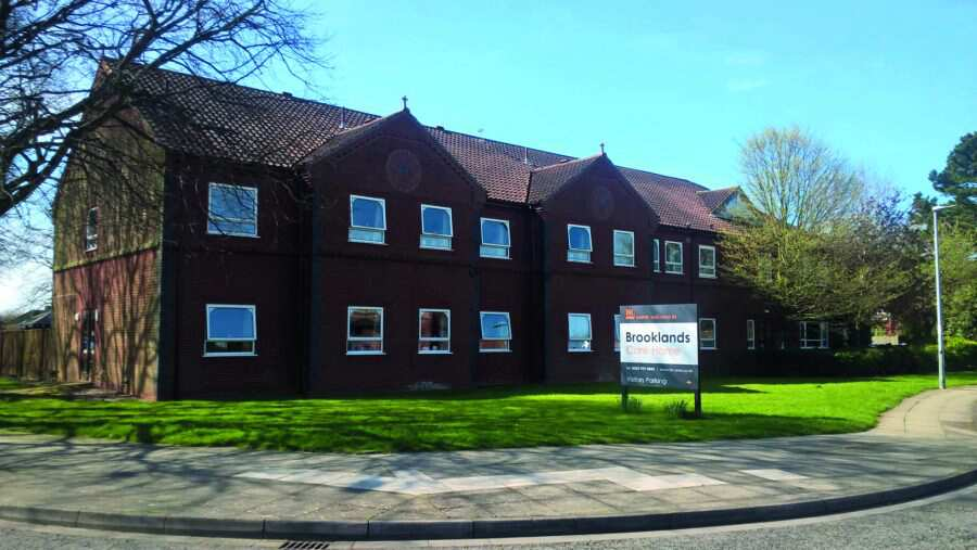 Brooklands Care Home North East Lincolnshire DN33