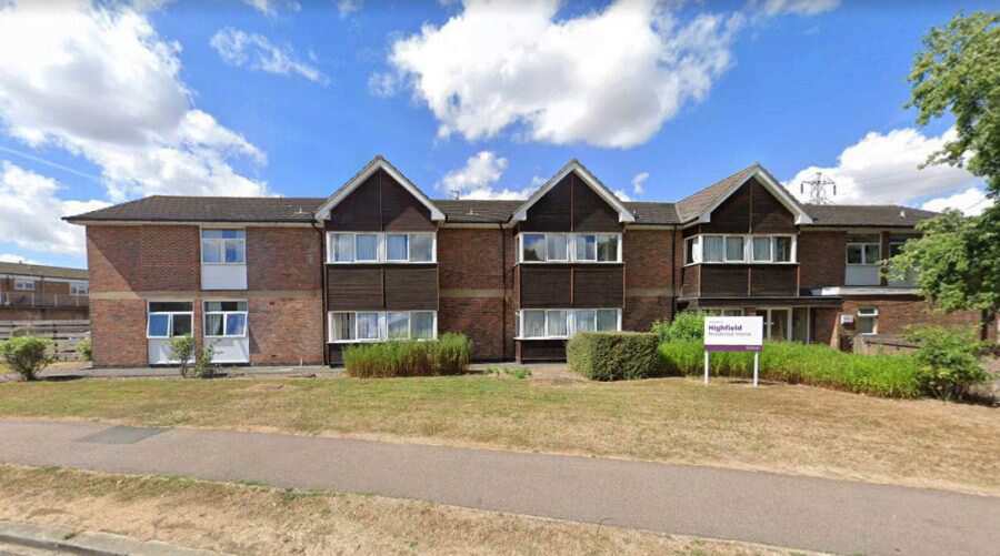 Highfield Bedford Bedfordshire Mk41 7ah Residential Care Home