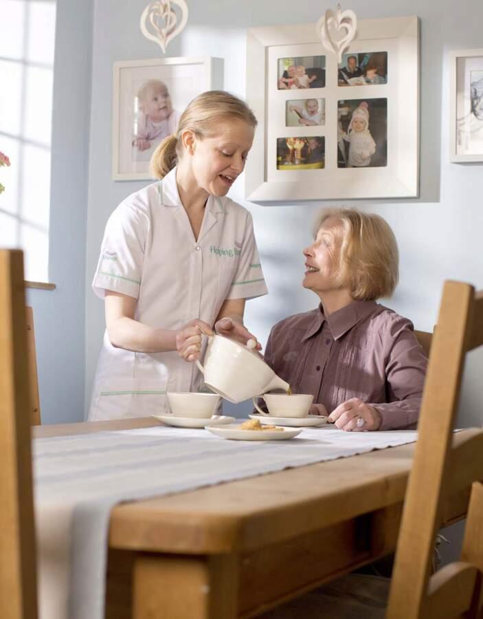 Helping Hands Home Care In Cornwall, Devon, Warwickshire