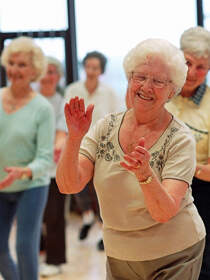 Old people activities